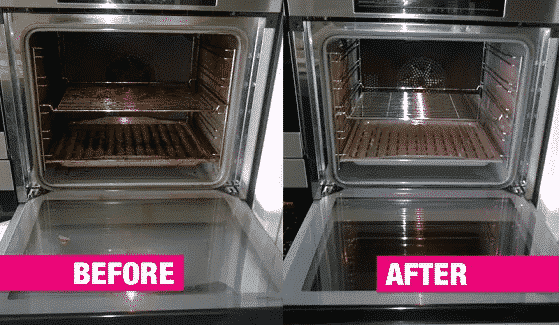 How to clean your oven the right way, with the right product without causing damage